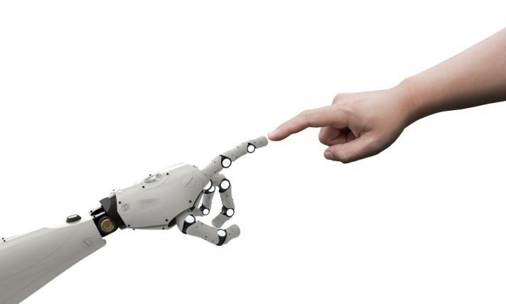 robot-hand-child